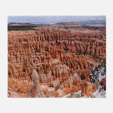BRYCE CANYON AMP Throw Blanket