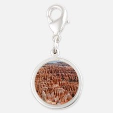 BRYCE CANYON AMP Silver Round Charm