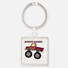 Monster Truck Madness Keychains