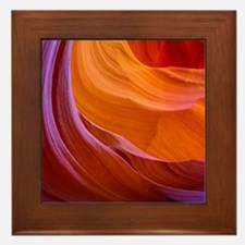 ANTELOPE CANYON 2 Framed Tile