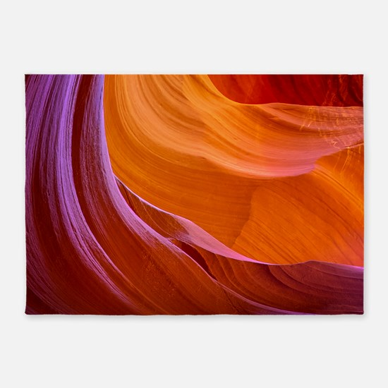 ANTELOPE CANYON 2 5'x7'Area Rug