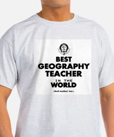 Best Geography Teacher in the World T-Shirt