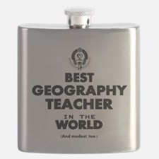 Best Geography Teacher in the World Flask