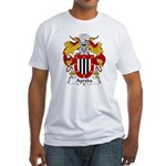 Agreda Family Crest Fitted T-Shirt