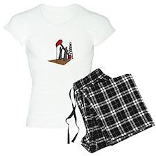 OIL RIG AND DERRICK Pajamas