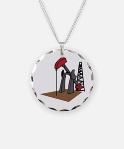 OIL RIG AND DERRICK Necklace