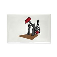OIL RIG AND DERRICK Magnets