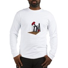 OIL RIG AND DERRICK Long Sleeve T-Shirt