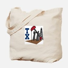 OIL RIG AND TEXAS Tote Bag
