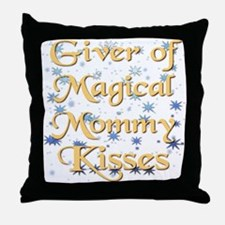 MOMMYkiss.png Throw Pillow