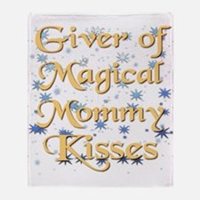 MOMMYkiss.png Throw Blanket