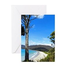 Tasmanian Coast Greeting Card