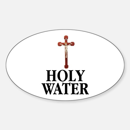 Holy Water Decal