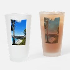 Tasmanian Coast Drinking Glass