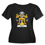 Agraz Family Crest Women's Plus Size Scoop Neck Da