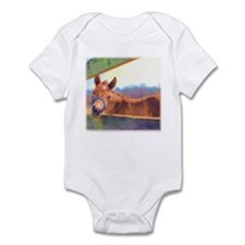 Adorable foal Infant Bodysuit