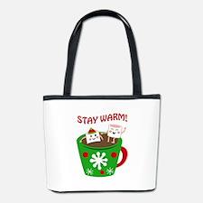 STAY WARM COCOA Bucket Bag