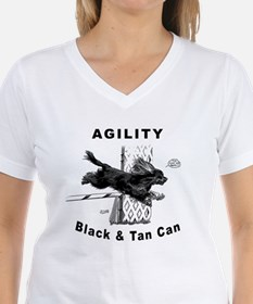Black & Tan Cavalier Agility Shirt
