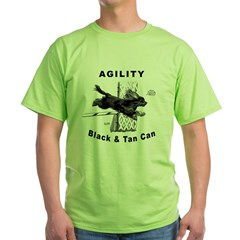 Black & Tan Cavalier Agility T-Shirt
