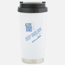Keep Smiling Travel Mug