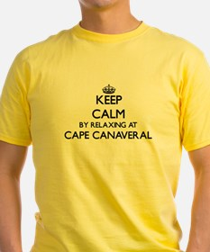 Keep calm by relaxing at Cape Canaveral Fl T-Shirt