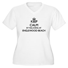 Keep calm by relaxing at Englewo Plus Size T-Shirt