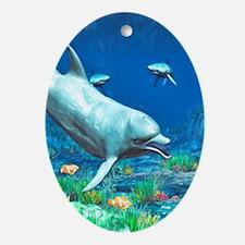 Underwater World 2 Oval Ornament