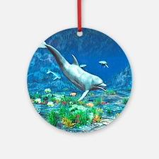 Underwater World 2 Round Ornament