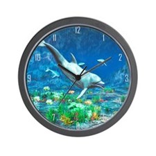 Underwater World 2 Wall Clock