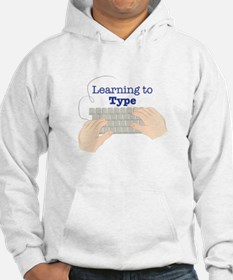 Learning To Type Hoodie