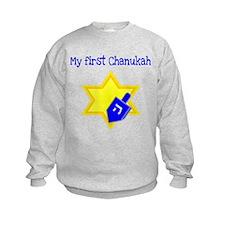 My First Chanukah Sweatshirt