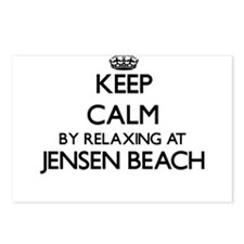 Keep calm by relaxing at Postcards (Package of 8)