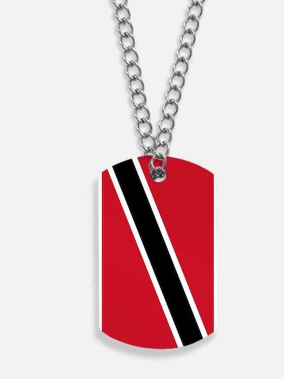 Trinidad Tobago Flag Dog Tags