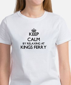 Keep calm by relaxing at Kings Ferry Georg T-Shirt