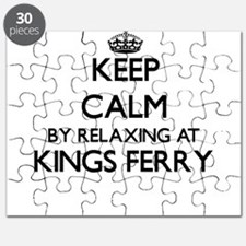Keep calm by relaxing at Kings Ferry Georgi Puzzle