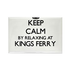 Keep calm by relaxing at Kings Ferry Georg Magnets