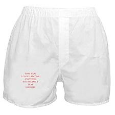 trap shooting Boxer Shorts