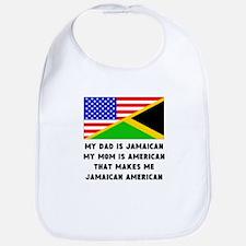That Makes Me Jamaican American Bib