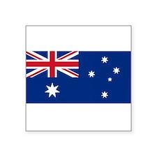 """Unique Australia Square Sticker 3"""" x 3"""""""