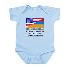 That Makes Me Armenian American Body Suit