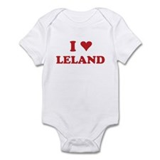 I LOVE LELAND Infant Bodysuit