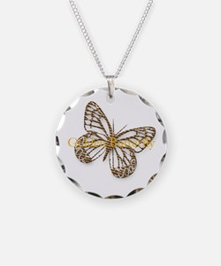 Cute Gold Butterfly Necklace