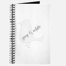 Cute Paper Bird Journal