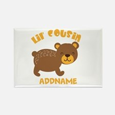 Personalized Name Little Cousin Rectangle Magnet