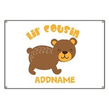 Personalized Name Little Cousin Banner
