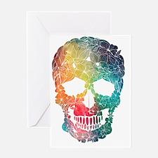 Cool Sugar skulls Greeting Card