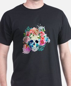 Funny Girly skulls T-Shirt