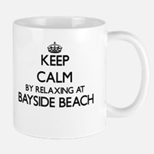 Keep calm by relaxing at Bayside Beach Maryla Mugs