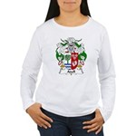 Adell Family Crest  Women's Long Sleeve T-Shirt