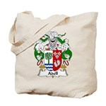 Adell Family Crest  Tote Bag